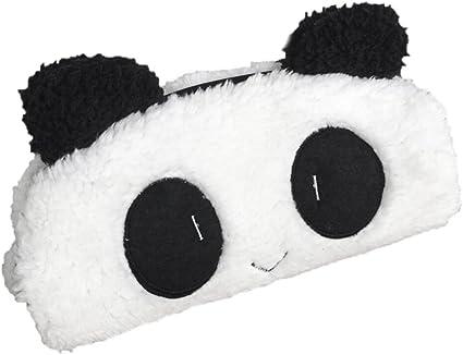 Cute Girls estuche, venmo lápiz con diseño de oso panda de peluche (funda con cremallera Slim Monedero Pen Bolsa Organizador Para Niños: Amazon.es: Oficina y papelería
