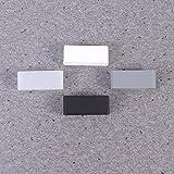 Hemobllo 4pcs 16MM Silicone Watch Band Strap Loops