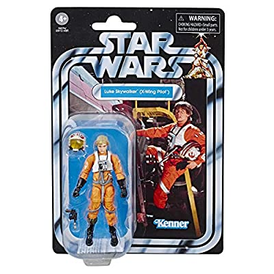 Star Wars The Vintage Collection A New Hope Luke Skywalker Toy, 3.75