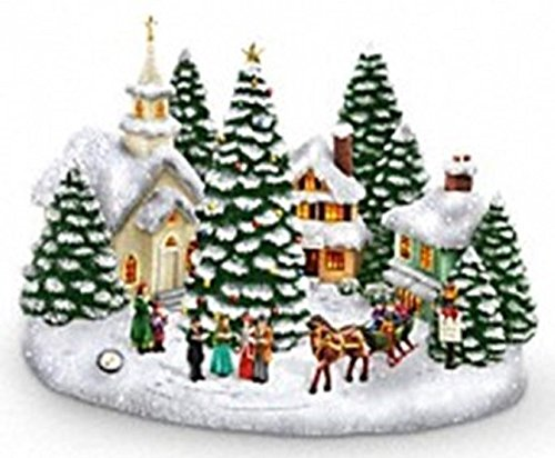 thomas-kinkade-musical-light-up-christmas-village-w-carolers-st-nicholas-circle
