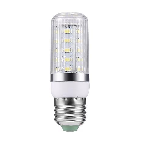 E27 7 W 36 SMD 5730 Side Silver Light LED bombilla de maíz Pur/blanco