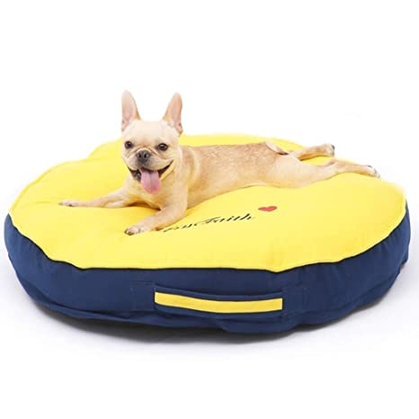 Pleasing Amazon Com Yjlgryf Pet Bed Round Shape Dog Bed Super Soft Squirreltailoven Fun Painted Chair Ideas Images Squirreltailovenorg