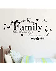 """Stonges Inspirational Quotes Wall Stickers Art Decor for Girls Bedroom""""If You Believe in Yourself Anything is Possible"""" Vinyl Saying Decals for Home Dorm Mural"""