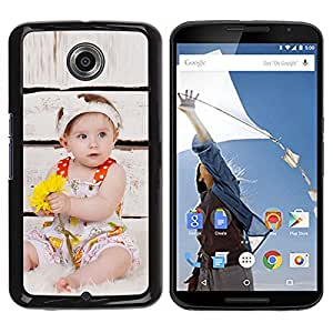 Be Good Phone Accessory // Dura Cáscara cubierta Protectora Caso Carcasa Funda de Protección para Motorola NEXUS 6 / X / Moto X Pro // Wonder Cute Kid Mother Love