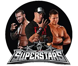 Wrestling Superstars Edible Cupcake Toppers Decoration