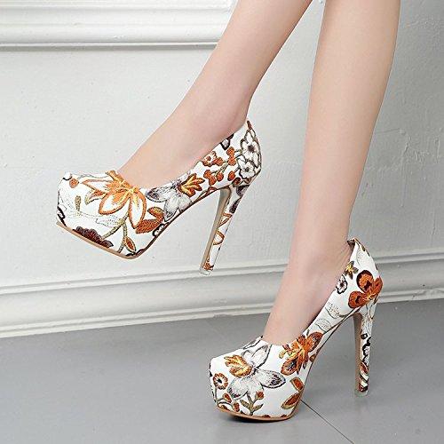 four los alto de altos de y Tabla impermeabilización con tacones Thirty zapatos tacón Donyyyy HwSOqS