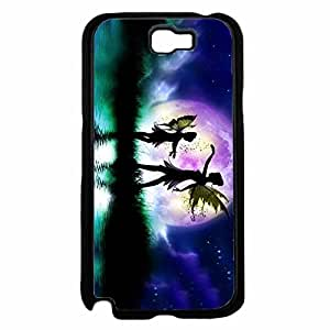 Fairies Dancing in the Sky TPU RUBBER SILICONE Phone Case Back Cover Samsung Galaxy Note II 2 N7100 wangjiang maoyi by lolosakes