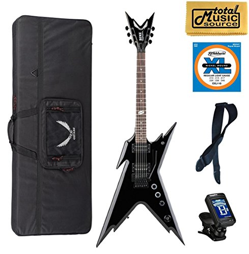 Dean Razorback Dimebag Electric Guitar & Case, FREE Strap/Tuner/Strings/Cloth (Dimebag Electric Dean Razorback Guitar)