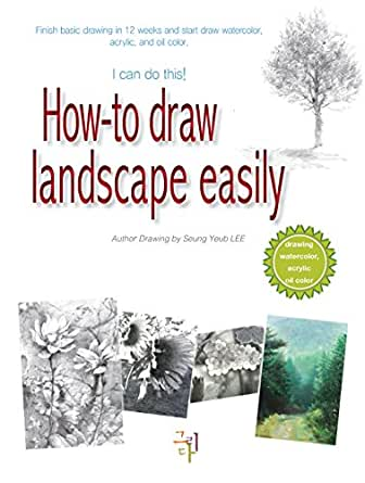 27+ Easy Landscape Drawing And Colouring