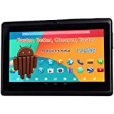 """7"""" 1024 A23 1.3Ghz Android 4.4 Capacitive Dual Camera Tablet PC Black"""