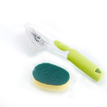 Cepillo para limpieza de ollas con mango largo, suministro ...