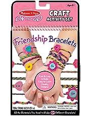 Melissa & Doug On-the-Go Friendship Bracelets Craft Activity Set (Makes 10+ Bracelets)