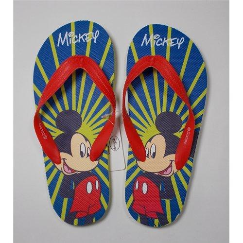 Flip Flops Schlappen Meer Mickey Disney von 27bis 34–d09984/3Blau 33/34 blau blau
