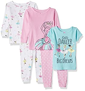 a8f63028d Carter s Baby-Girl 5-Piece Cotton Snug-fit Pajamas   Get at least 1 ...