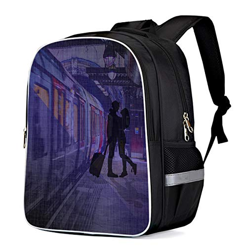 Casual Backpack Waterproof Valentine's Day Pattern Printed College School Business Travel Backpack for Women and Men -