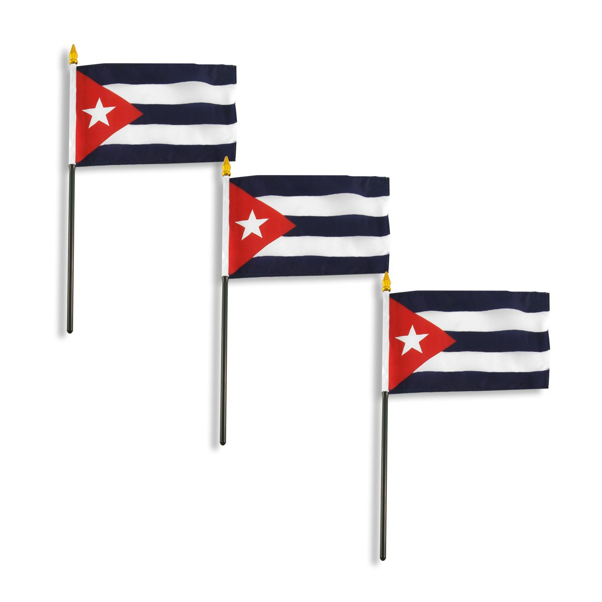 amazon com us flag store cuba flag 4 by 6 inch outdoor flags