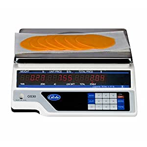 Globe Food GS30 Legal for Trade Price Computing 30 lb Digital Scale