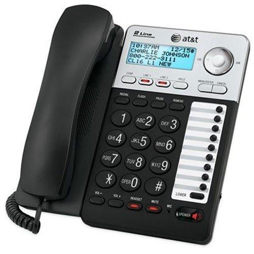 Phone Landline, Att Ml17929 2-line Home Office Desk Corded Phone Speaker