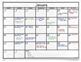 Best Dry Erase Calendars - OfficeAid Large Laminated Dry Erase Wall Calendar Review