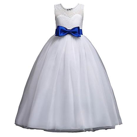 Waren des täglichen Bedarfs modische Muster große Auswahl Mädchen Blumenmädchenkleid Kinder Tüll Prinzessin Kleid Weihnachten  Ärmellos mit Hochzeit Kleid Blumen Tüll Bogen Kleid Lonshell