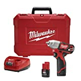 Milwaukee 2463-22 M12 3/8 Impact Wrench – Kit