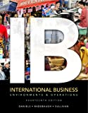 International Business Plus NEW MyIBLab with Pearson EText, Daniels, John and Radebaugh, Lee, 0133033988