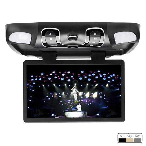 "Ouku Black 15.6"" Car Roof Mount Overhead DVD CD Player Mo..."