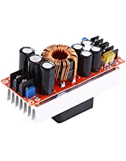 aqxreight - 1500W 30A DC-DC constante stroom boost-converter Step-up voedingsmodule 10-60V tot 12-90V