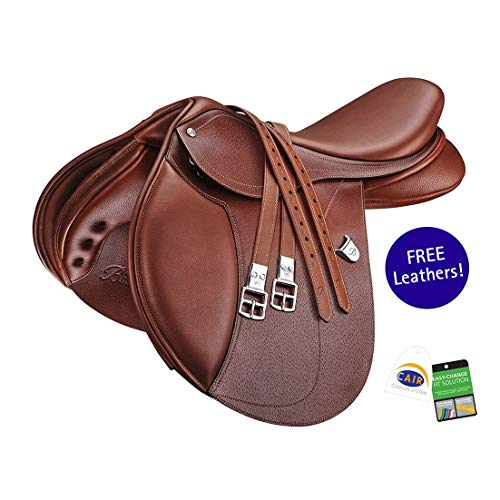 (Bates Hunter Jumper Saddle Newmarket 16.5)