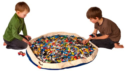 Swoop Bag Original Toy Storage Bag + Playmat, BLUE, Baby & Kids Zone