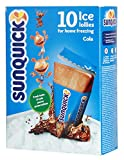 SUNQUICK flavored freezer pops/ice cream COLA 10ct. Imported from DENMARK