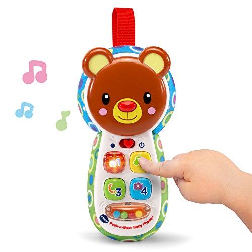 51 uve32XGL - VTech Baby Peek-a-Bear Baby Phone