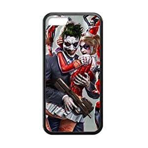 Diy iphone 5 5s case Apple Case for iPhone 5 5S Harley and joker character case
