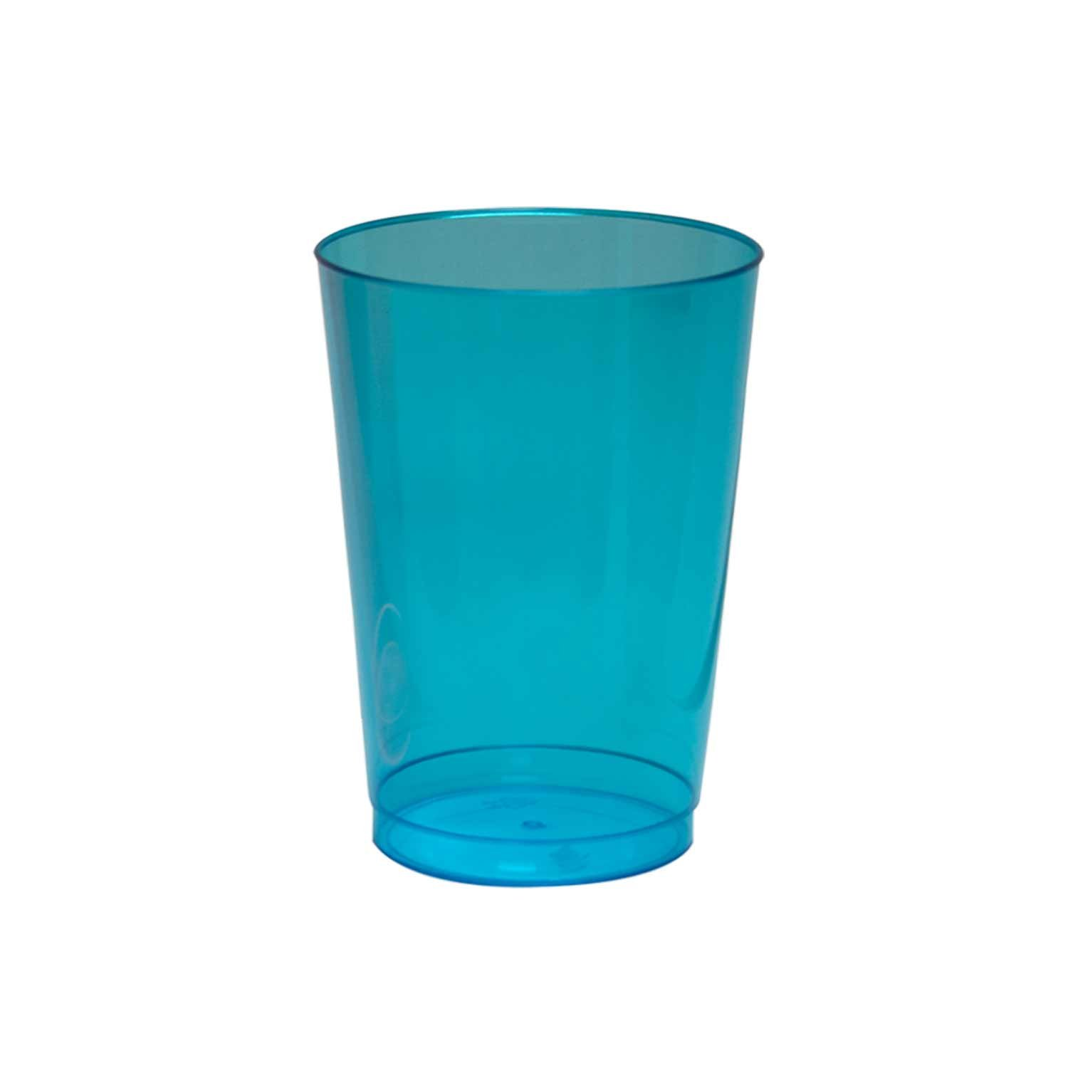 Party Essentials Hard Plastic Party Cups/Tumblers, 10-Ounce, Mardi Gras Mix, 50-Count N105046