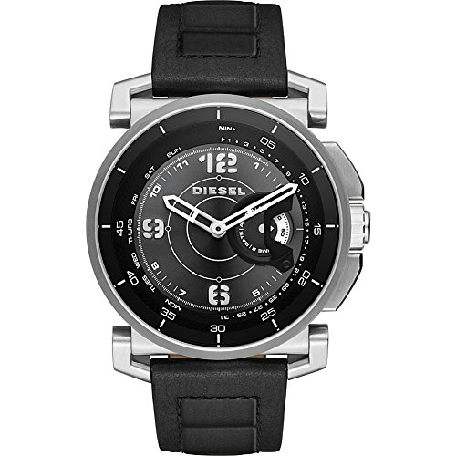 Diesel Watches On Time Hybrid Smartwatch (Black/Black) by Diesel