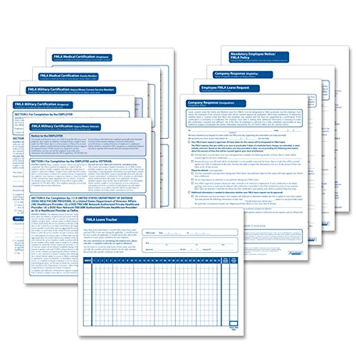 ComplyRight FMLA Administration System - Forms Refill Pack (10 each)