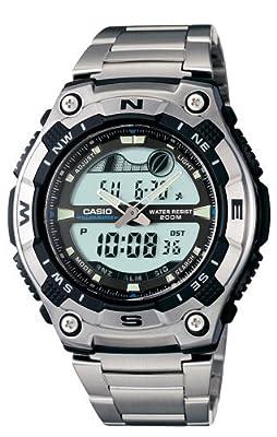 Casio Men's AQW100D-1AV Active Dial Sport Watch from Casio