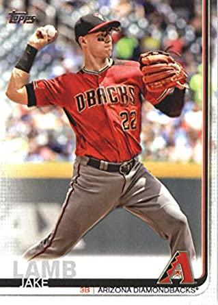 52932b13c 2019 Topps  334 Jake Lamb Arizona Diamondbacks Series 1 MLB Baseball  Trading Card