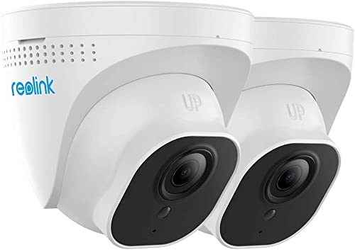 Reolink PoE IP Camera Pack of 2 Outdoor 5MP HD Video Surveillance Work