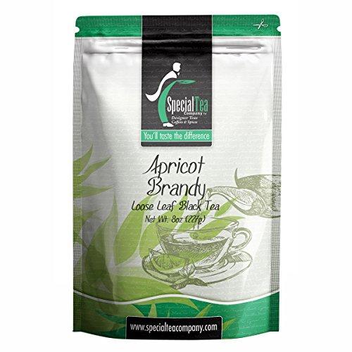Special Tea Loose Leaf Black Tea, Apricot Brandy, 8 - Brandy Apricot