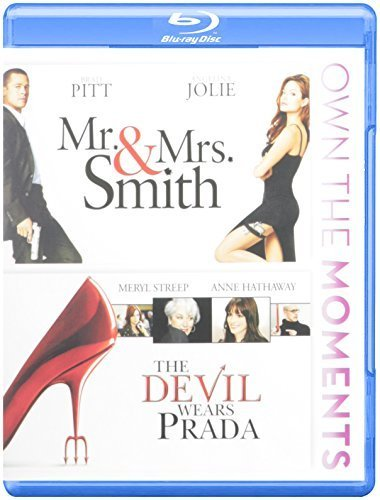 Mr & Mrs Smith / The Devil Wears Prada [Blu-ray] by 20th Century Fox