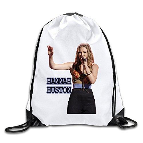 Acosoy Hannah Huston Singer Drawstring Backpacks/Bags