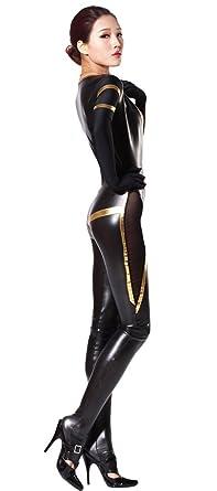 Latex cat suit pic