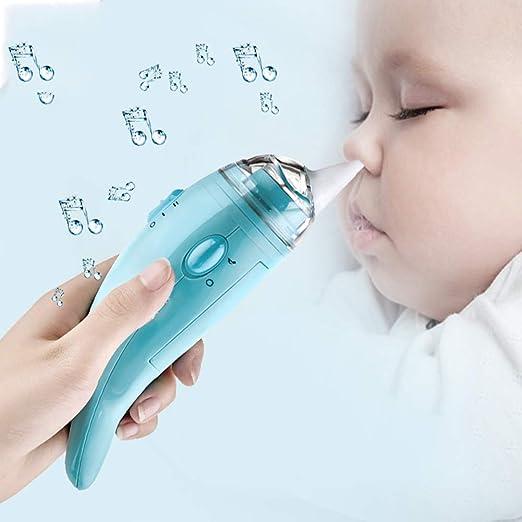 Aspirador Nasal para Bebés Recién Nacido Limpieza Eléctrica ...