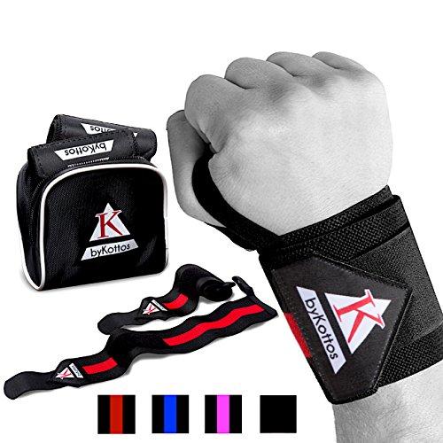 Wrist Wraps Weightlifting ByKottos Powerlifting
