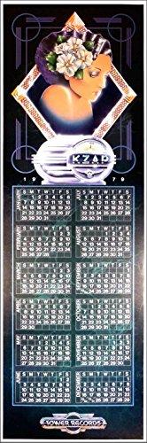 Tower Records Original Poster Calendar KZAP 1979