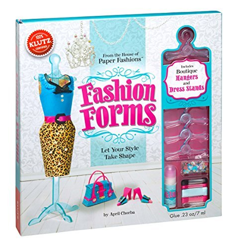 Fashion Forms (Klutz) by Anne Akers Johnson (2012-10-04) (Fashion Forms Klutz)