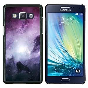 EJOOY---Cubierta de la caja de protección para la piel dura ** Samsung Galaxy A5 A5000 ** --Galaxy Stardust Espacio púrpura nubes de gas