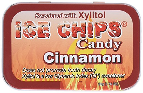 Ice Chips Hand Crafted Candy Tin Cinnamon - 1.76 oz