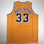 480fb430e Unsigned Kareem Abdul-Jabbar Los Angeles LA Yellow Custom Stitched  Basketball.